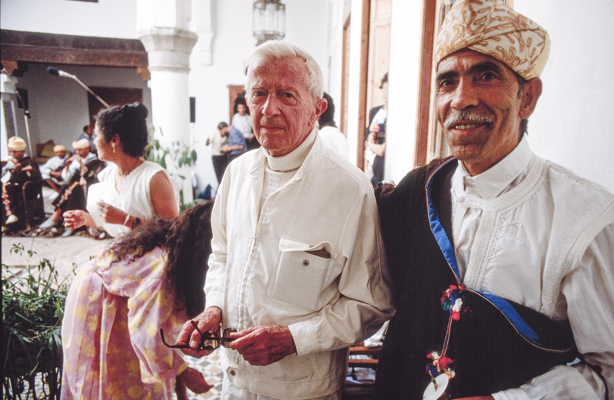 Paul Bowles in The house with the Rolling Stones