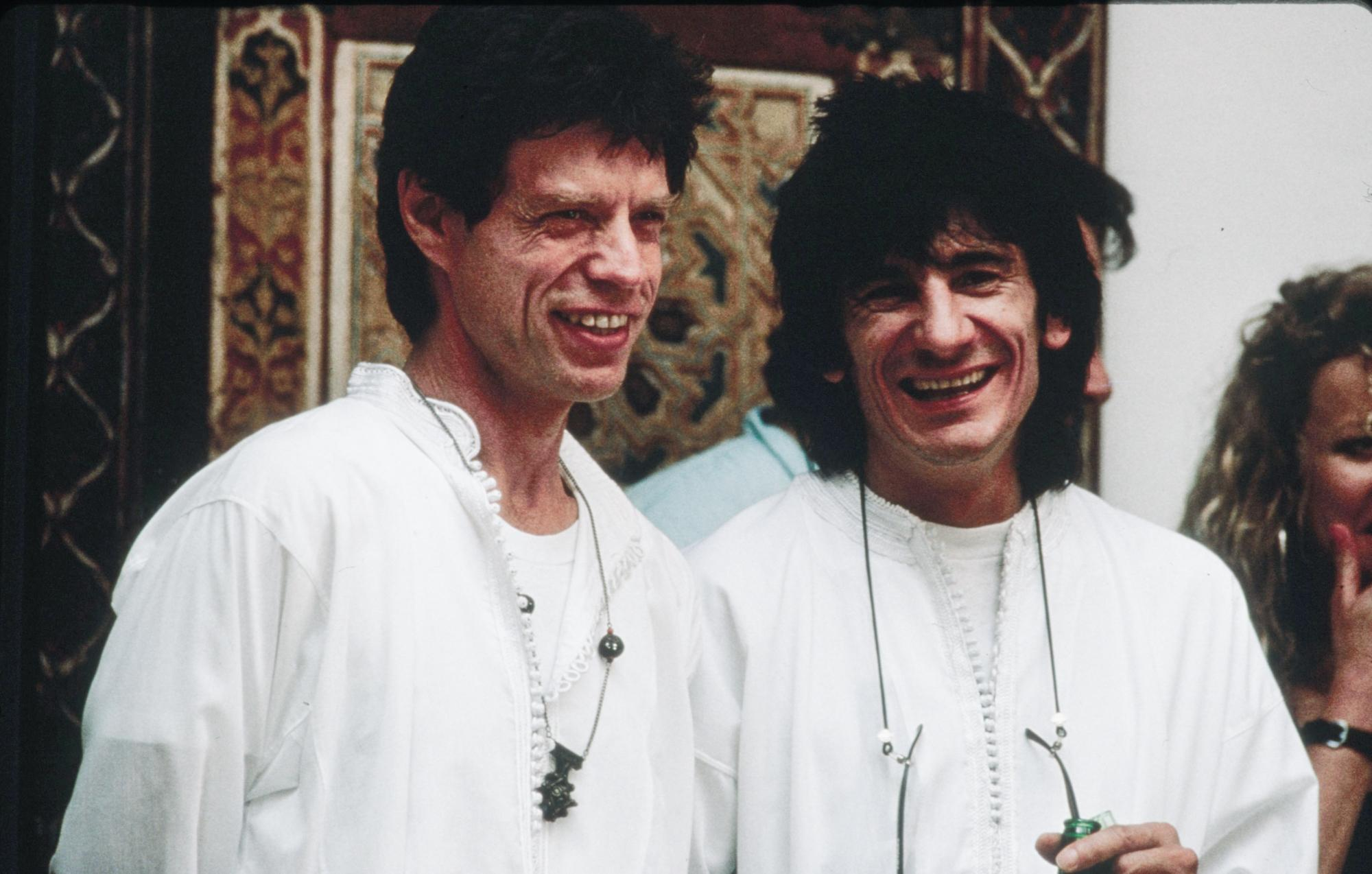 Mick and Ronnie